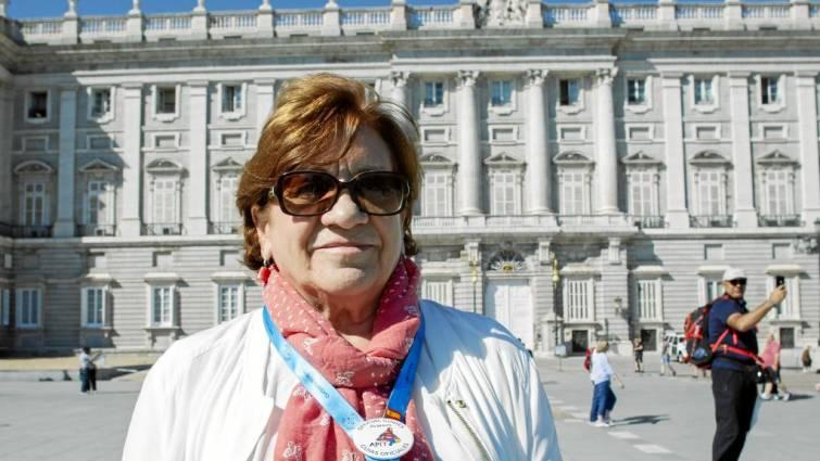 """María Rosa de Juan, presidenta de APIT Madrid, """"No sé si nos darán permisos para los buses turísticos"""""""