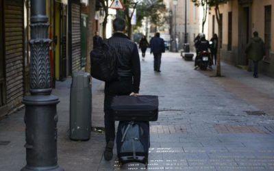 El turismo pide que dejen parar a los autobuses dentro de Madrid Central.