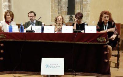 Culminación de la celebración de los 25 años de la Asociación de Guías Oficiales de Segovia.