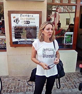 La zamorana Estrella Torrecilla, Guía Oficial de Turismo, nueva directora general de Turismo