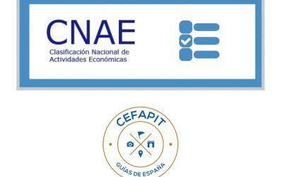 Consideraciones importantes con respecto al CNAE y su relación con nuestra actividad.