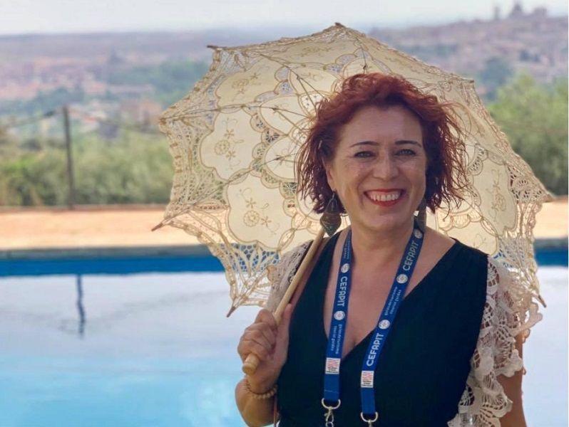 """Almudena Cencerrado, presidenta de los guías turísticos: """"Comenzamos a ver la luz al final del túnel"""""""